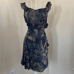 Galliano Ruffle dress
